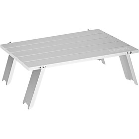 CAMPZ Mini Folding Table 44x29x15cm, silver